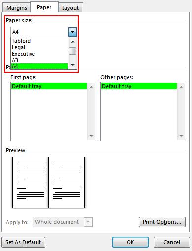 صفحه آرایی کتاب با نرم افزار وورد